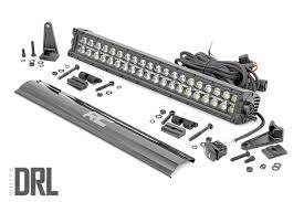 20 Inch Osram Light Bar 20 Inch Cree Led Light Bar Dual Row Black Series W Cool White Drl