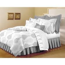 Home Dynamix Classic Trends White-Light Gray 5-Piece Full/Queen Comforter  Set-F/Q-ARI-153 - The Home Depot