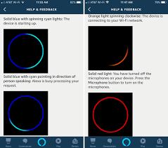 Alexa Green Spinning Light What The Status Lights On An Amazon Echo Speaker Mean