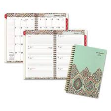 At A Glance Monthly Planner 2019 At A Glance Marrakesh Desk Weekly Monthly Planner Aag182200