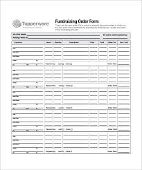 Order Form Fundraisers And Templates On Pinterest Order