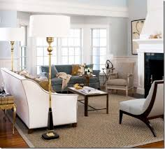 bare bay window living room