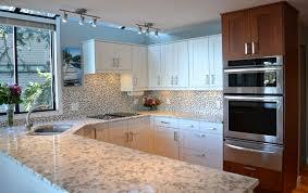 Medium Brown Kitchen Cabinets Ikea Kitchen Harbour View Sidney Bc