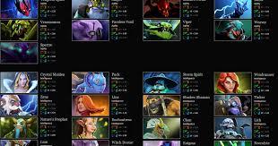 dota 2 heroes list