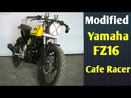 modified yamaha fz into cafe racer by gear gear motorcycles