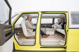 2018 volkswagen id buzz. beautiful buzz kirk bell and john voelcker in volkswagen id buzz electric microbus concept  vehicle throughout 2018 volkswagen id buzz c
