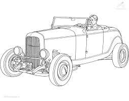 1001 Kleurplaten Voertuigen Auto Kleurplaat Oldtimer