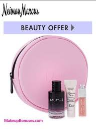 neiman marcus free bonus gift with purchase offers from dior beauty la prairie dels at makeupbonuses la prairie dior neimanmarcus gwp