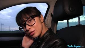 Hot exotic brunette Mona hooks up with public agent Analdin.