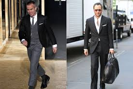 Suit, shirt, tie, shoes, and tie bar by thom browne, thombrowne.com. A Tale Of Two T H Oms Grailed