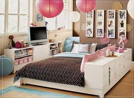 teen bed furniture. Perfect Furniture Teen Girl Bedroom Furniture Antique Wood Bed Luxurious Lantern Lamp  Monochrome Polka Dots Pattern Computer Full On I