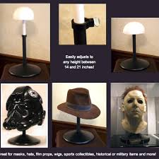 Helmet Display Stands Mesmerizing Adjustable Display Stand Movie Prop And Mask Displays Pinterest