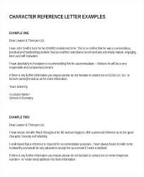 Character Recommendation Reference Template For Renting Uk