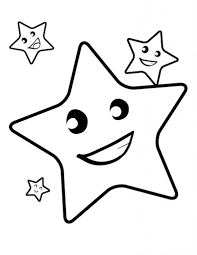 Small Picture Coloring Page Of A Star Star Coloring Pages Coloringpages1001 Com