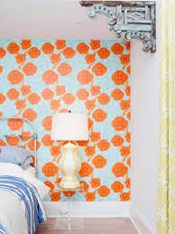Orange And Teal Bedroom Orange Color Palettes Orange Color Schemes Hgtv