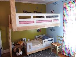 Floating Loft Bed Hand Made Architecural Woodworking Floating Bunk Bed By Honore