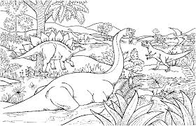Small Picture dinosaur coloring pages for kids BestAppsForKidscom