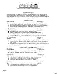 General Resume Skills Examples Unique Great Example Resumes Fascinating Resume College Template