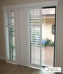 sliding door with built in blinds modernize your sliding glass doors with sliding plantation shutters sliding sliding door with built in blinds