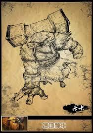 chinese dota 2 earthshaker artwork dota 2 updates dota2 news