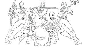 Coloring Pages Power Rangers Power Rangers Samurai Coloring Pages