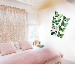 3d Butterfly Wall Decor 12pcs 3d Butterfly Wall Decor Stickers For Living Room Bedroom