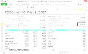Easy Monthly Budget Template Rental Expense T Template Free Basic Monthly Budget