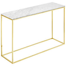 cheap hallway table. Como White Marble Console Table Cheap Hallway