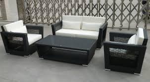 new design rattan sofa set