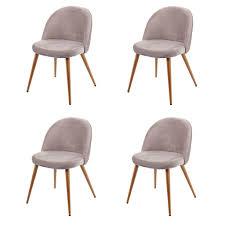 4x Esszimmerstuhl Hwc D53 Stuhl Küchenstuhl Retro 5 Real