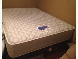 used queen mattress. Used Queen Mattress Awesome Serta Boxspring And Metal  Bed Frame For Sale North Regina Used