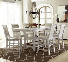 winsome dining room furniture round glass cabin white wood lacquered green cherry live edge oversized 7