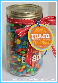 candy in a mason jar by making life whimsical