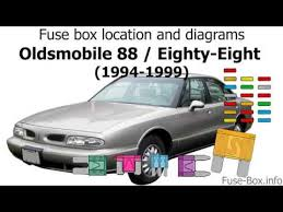 fuse box location and diagrams 1999 Oldsmobile Intrigue Engine Diagram 200 Olds Intrigue