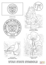 Small Picture Utah State Symbols coloring page Free Printable Coloring Pages