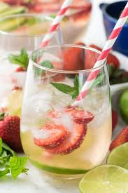 strawberry lime party punch crazy for