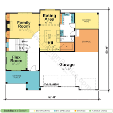 Small Picture Two Story House Home Floor Plans Design Basics