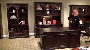 home office set. Wellington Executive Home Office Desk Set By Wynwood Furniture | Gallery Stores - YouTube