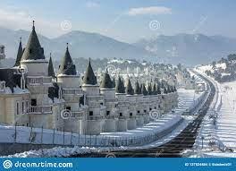 Mudurnu/Bolu/die Türkei, Schlosshausprojekt, Burj Al Babas Redaktionelles  Stockbild - Bild von interessieren, häuser: 137524804