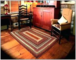 primitive country area rugs kitchen star with stars braid primitive rugs for living room country