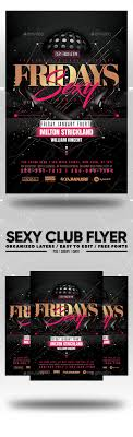 Club Flyers Design Online Sexy Club Flyer Graphics Designs Templates From Graphicriver