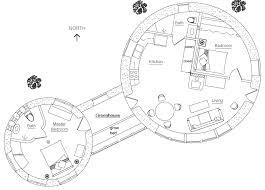 Hobbit House Plans Roundhouse Plan Earthbag