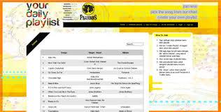 Chart Lagu Prambors Media Ide Blog Archive Pilih Playlist Musik Sendiri
