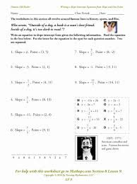 parallel and perpendicular lines worksheet writing equations parallel and perpendicular lines worksheet