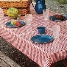 round vintage vinyl tablecloths home