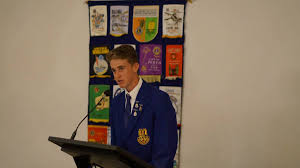 teens tackle topics at lions youth of the year glen innes examiner personal experience matt campion spoke about preparing for a race in his prepared speech at