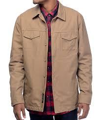 Roark Revival Highballer Dark Khaki Twill Jacket