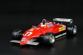 So when developing a new engine seemed inevitable, it was no surprise that ferrari took the turbo path. Awardwinner Built Fulldetail 1 12 Ferrari 126c2 Belgian Grandprix Metai Resin Ebay
