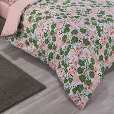 duvet cover with pillowcases ivy pink