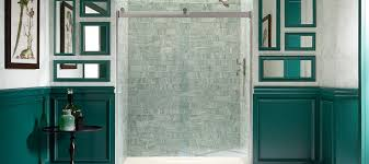 Shower Door kohler levity shower door installation photos : Levity Shower Doors   Showering  Bathroom   KOHLER